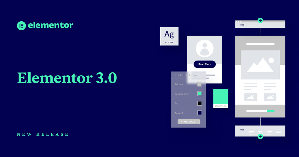 start a blog with astra theme and Elementor page builder
