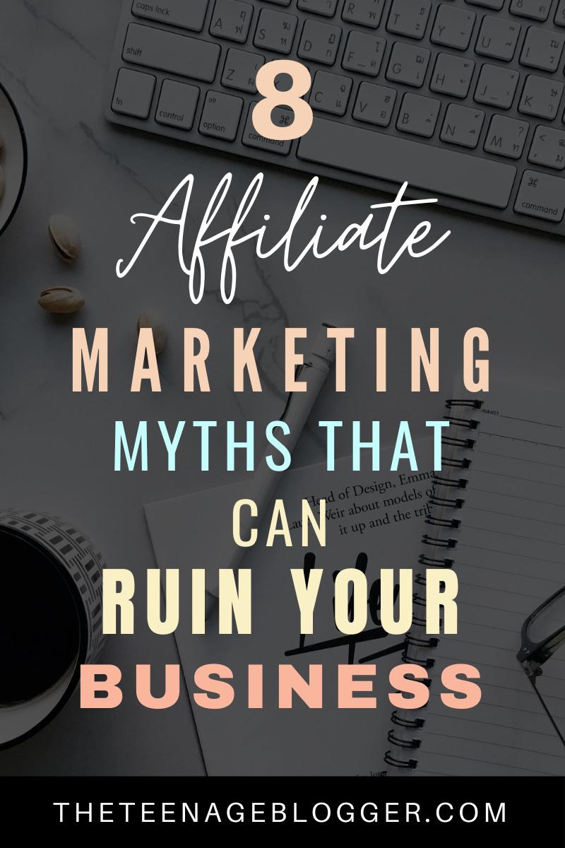 8 Affiliate Marketing Myths
