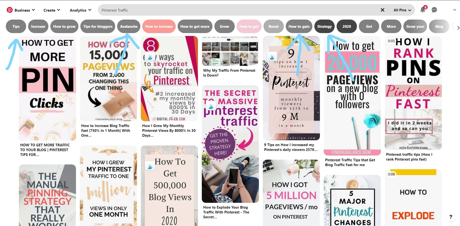 Keyword research for Pinterest Marketing in 2020