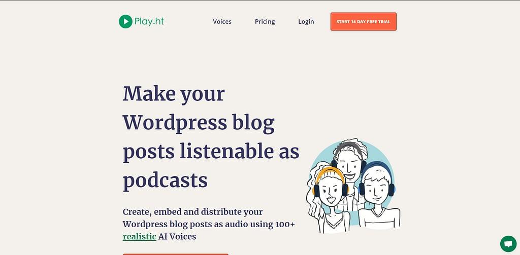Play Plugin WordPress