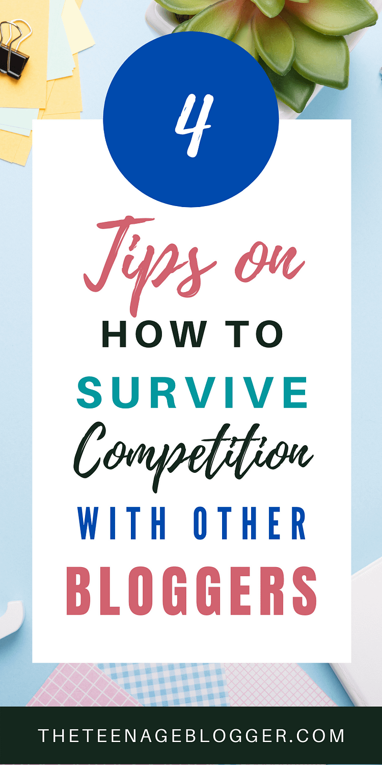 4 tips to survive competition