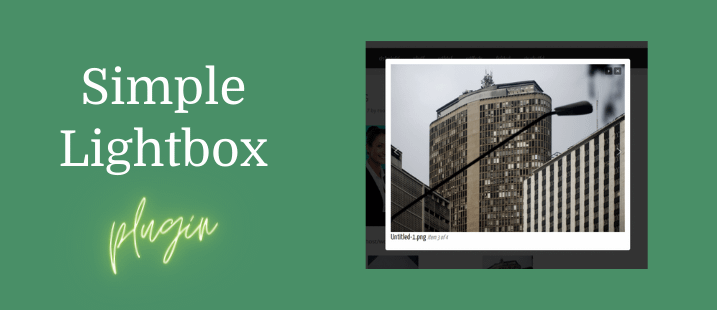 Simple Lightbox Plugins
