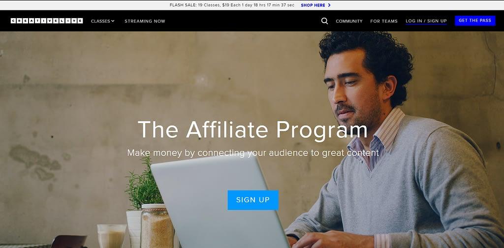 CreativeLive Affiliate Program