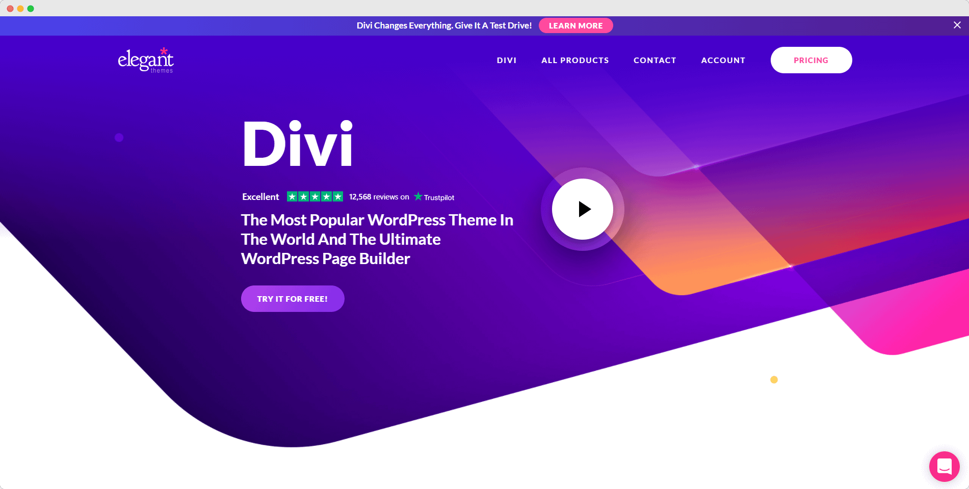 divi theme - cost to start a blog