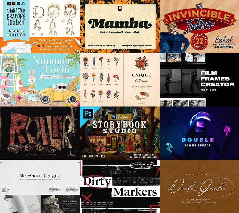 Design Cuts Graphic bundle