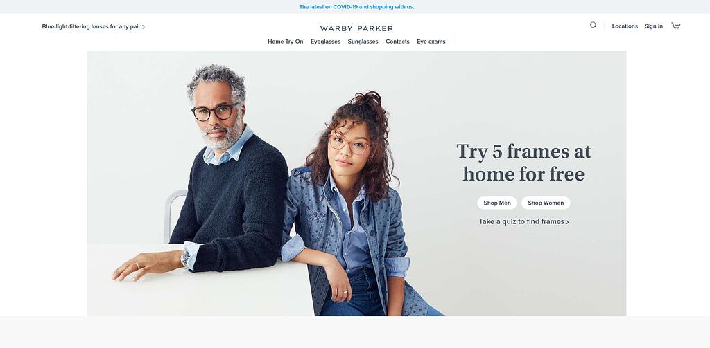 Warby Parker high commission Affiliate Program